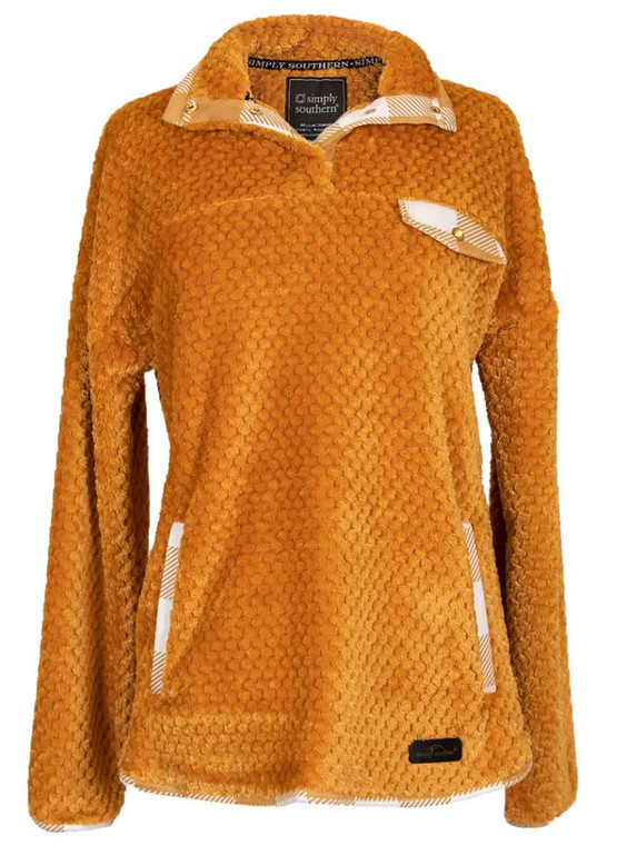 Simply Southern Simply Soft Pullover - Mustard