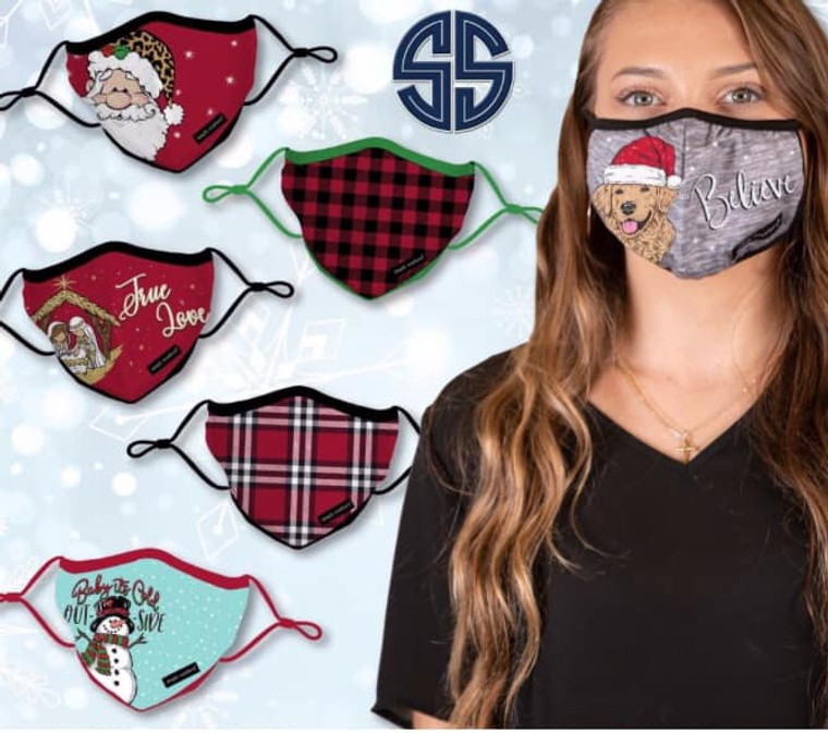 Simply Southern Holiday Mask
