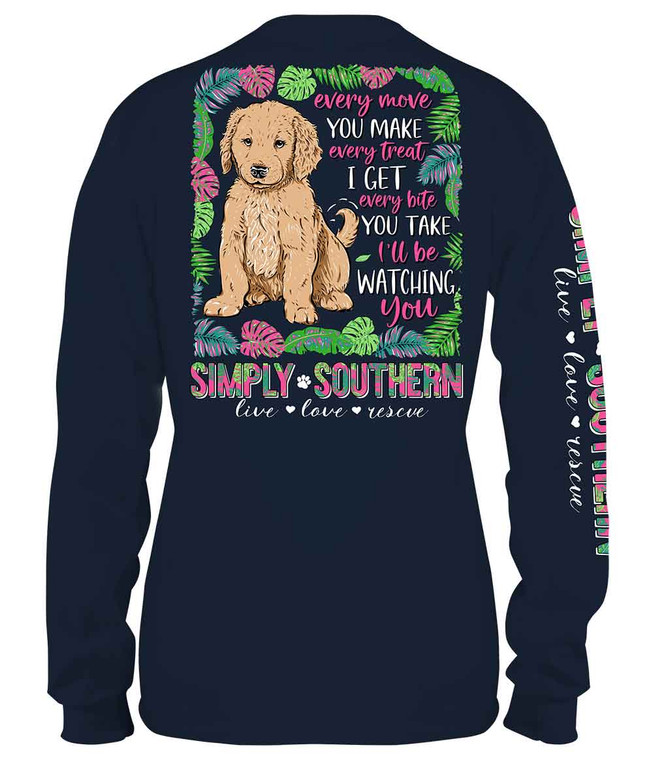 Simply Southern Watching Midnight Long Sleeve Tee