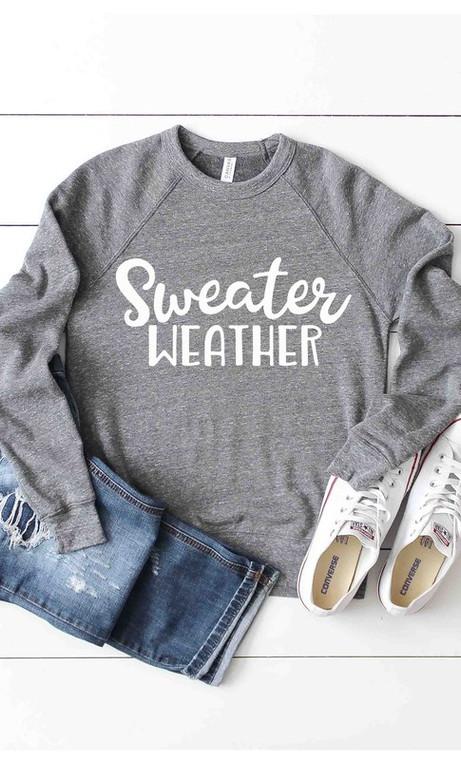 Sweater Weather Swearthirt