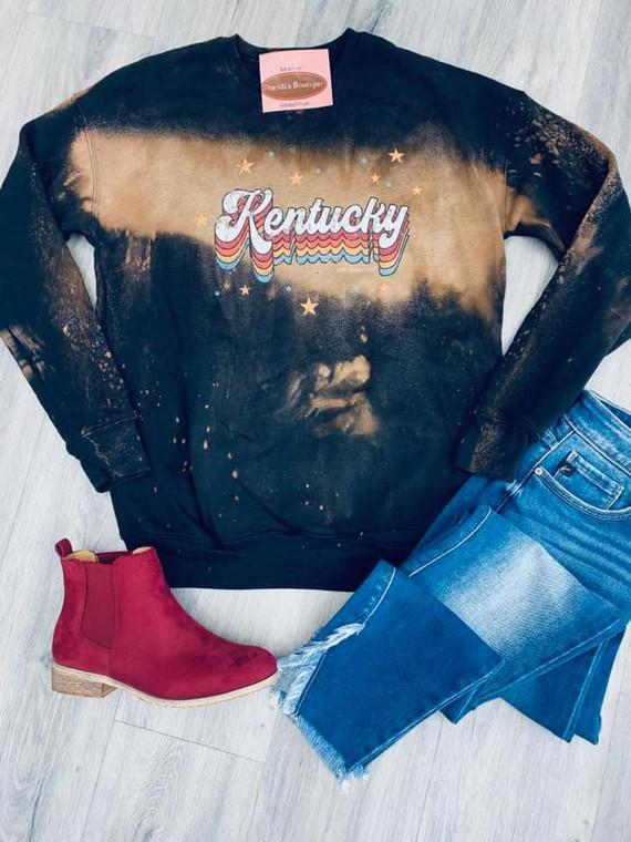 Kentucky Vintage Bleached Sweatshirt