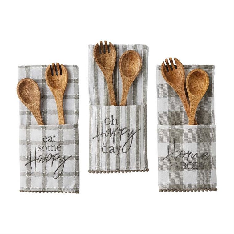 Mud Pie Salad Towel Sets