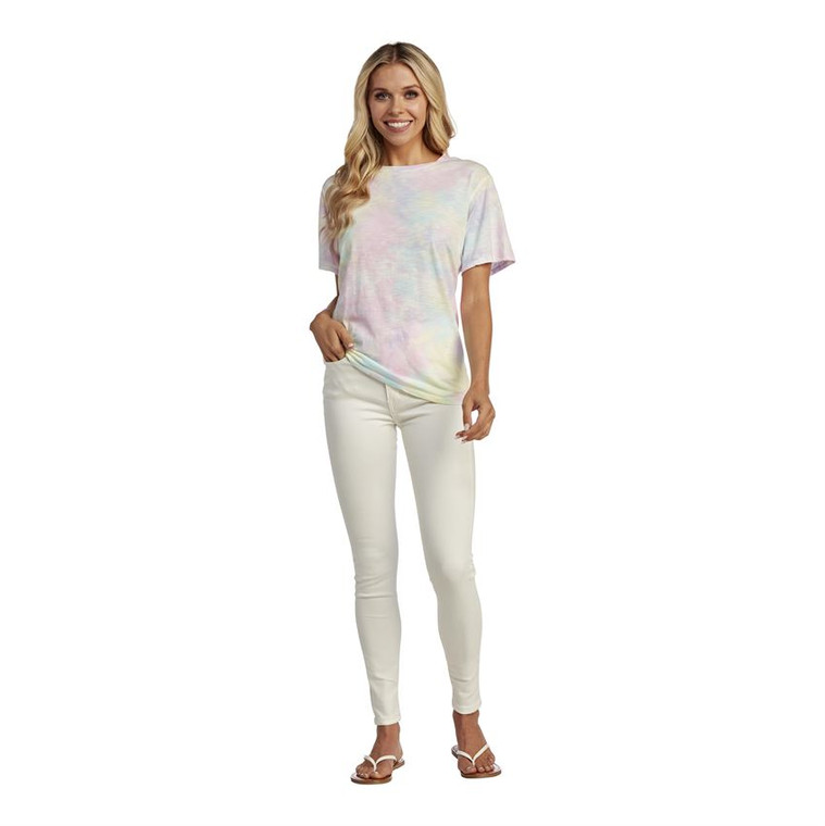 Mud Pie Liliane Tie Dye Tee - Multi