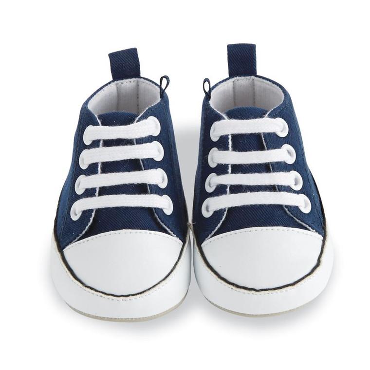 Mud Pie Navy Pre-Walker Tennis Shoes
