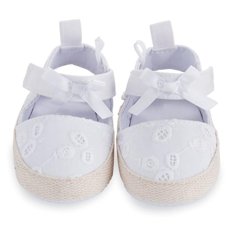 Mud Pie Eyelet Pre-Walker Shoes