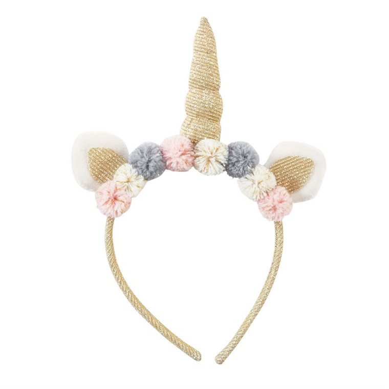 Mud Pie Unicorn Headband - GOLD