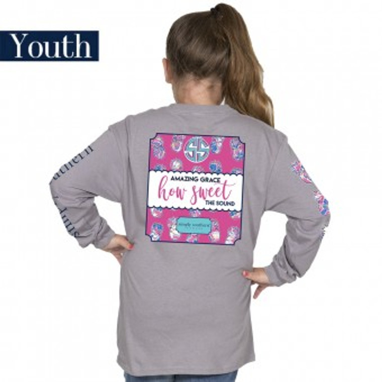 YOUTH Simply Southern Steel Sweet Tee