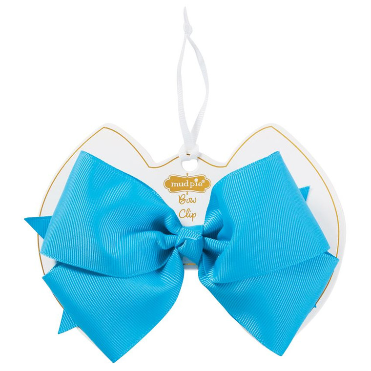 Mud Pie Turquoise Bow Clip