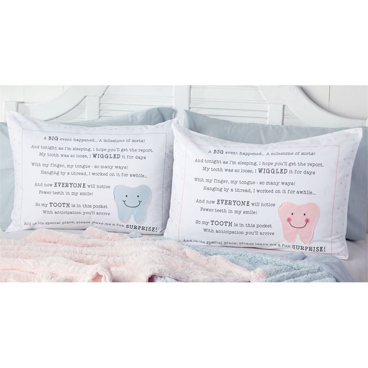 Mud Pie Tooth Fairy Pillow Case