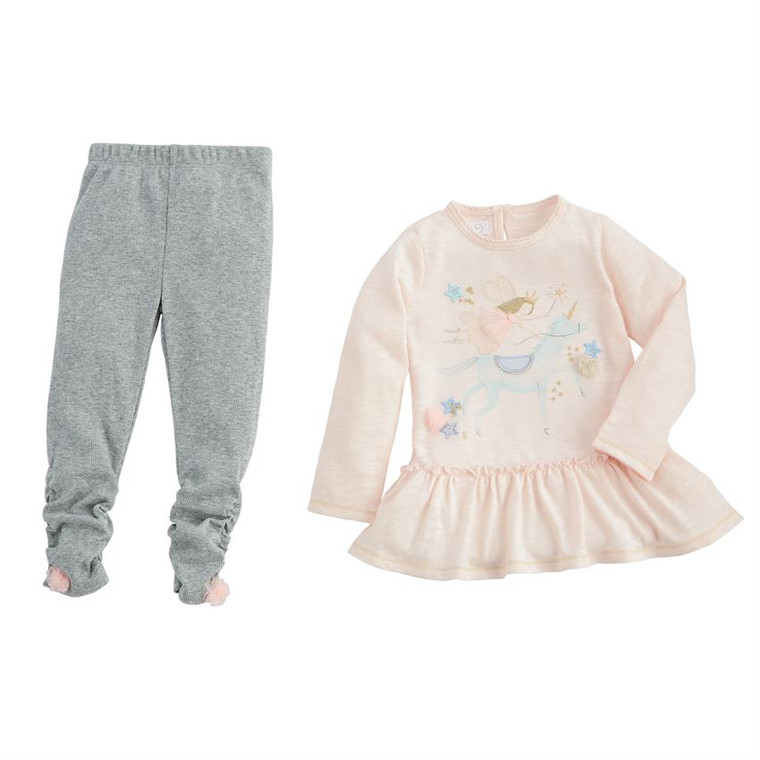 Mud Pie Fairy Unicorn Tunic & Legging Set