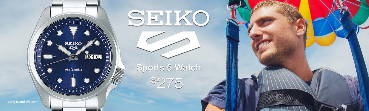 Seiko 5 Sports Watch