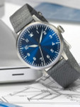 Laco Munster Blaue Stunde Swiss Automatic Pilot Watch with Sapphire Crystal #862081