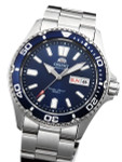 Orient USA II Blue Dial Automatic Dive Watch with Sapphire Crystal #AA0200BD