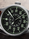 Laco 42mm Aachen Type B Dial Automatic Pilot Watch, New Sapphire Crystal #861690