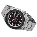 Islander Automatic Dive Watch with Bracelet, DD AR Sapphire Crystal, and Embossed Ceramic Bezel Insert #ISL-04