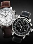 Graf Zeppelin Swiss Quartz Chronograph Watch with Alarm Function #7680-2