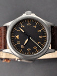 DIEVAS German Made Vintage Flieger Watch with Sapphire Crystal and a 39mm, 6Steel Case