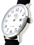 Orient Symphony Automatic Dress Watch with White Dial, Stainless Steel  Case #ER27008W
