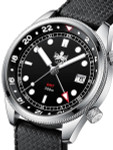 PHOIBOS Eagle Ray 300-Meter Dual-Time GMT Dive Watch with Double Dome AR Sapphire Crystal #PX023C