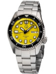 Islander 38mm Automatic Dive Watch with Solid-Link Bracelet, AR Sapphire Crystal, and Luminous Ceramic Bezel Insert #ISL-23
