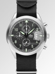 Laco Detroit Type C Dial Chronograph Watch with 12-hour Totalizer #861917