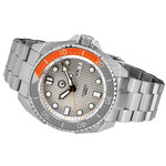Islander Waffle Dial Automatic Dive Watch with AR Double-Dome Sapphire Crystal, and Luminous Sapphire Bezel Insert #ISL-28