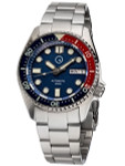 Islander 38mm Automatic Dive Watch with Solid-Link Bracelet, AR Sapphire Crystal, and Luminous Sapphire Bezel Insert #ISL-49