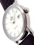 Orient Symphony Automatic Dress Watch with Silver Dial, Stainless Steel  Case #ER27007W