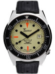 Squale 500 Meter Swiss Made Automatic Dive Watch with Luminous Dial #1521-026-LUME