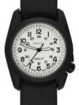 Bertucci A-2CT Cera-Ti™ Ceramic Coated Titanium Field Watch with Swiss Quartz Movement #12137