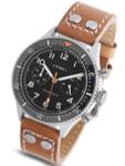 HEMEL 24 Quartz Chronograph Watch with 60-Minute Ceramic Bezel and Sapphire Crystal #HFT20-VK1