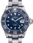 Davosa Ternos Swiss Automatic 200 Meter Dive Watch with Blue Dial #16155540