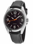 Islander Automatic Watch with Leather Strap and an AR Dome Sapphire Crystal #ISL-54
