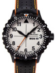 Damasko Swiss ETA Automatic with a Rotating 12-Hour Bezel and Black ion plated SS Case #DA43