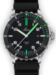 Laco Squad Amazonas 300 Meter Dive Watch with a Double-Domed AR Sapphire Crystal #862107