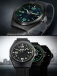 Traser P59 Essential S Black Dial Watch w/Trigalight + SuperLuminova #108204