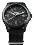 Traser Officer Pro Gun Metal PVD Case Watch with an Anti-Reflective Sapphire Crystal #107422