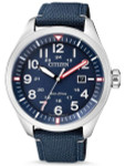 Citizen Military Watch Eco-Drive Blue Dial with Blue Nylon Strap #AW5000-16L