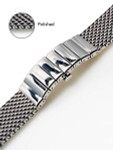 Vollmer Polished Mesh Bracelet #0600SH4 (22mm)