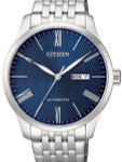 Citizen Automatic Blue Dial Watch with Stainless Steel Bracelet #NH8350-59L