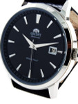 Orient Symphony Automatic Dress Watch with Black Dial, Stainless Steel  Case #ER27006B