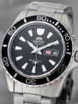 Orient Black XL Automatic Dive Watch on a Bracelet #CEM75001B