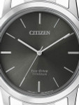 Citizen 41mm Titanium Eco-drive Watch with a 7-Month Power Reserve #AW2020-82H