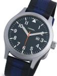 HEMEL Ten36 Swiss ETA Quartz Field Watch with Matte Black Dial and Sapphire Crystal #HM7