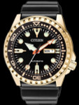 Citizen Automatic Marine Sport Watch with Rubber Dive Strap #NH8383-17E
