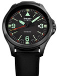 Traser P67 Officer Pro Swiss Automatic PVD Case Watch with an Anti-Reflective Sapphire Crystal #108075
