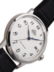 Orient 5th-Gen Automatic Dress Watch with White Dial, Arabic Numerals #RA-AC0003S10A