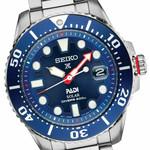 Seiko Special Editon Prospex PADI Solar Dive Watch with Stainless Steel Bracelet #SNE549