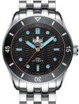 PHOIBOS Wave Master 300-Meter Automatic Dive Watch with AR Sapphire Crystal #PY009C