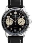 Graf Zeppelin LZ127 Series Quartz Chronograph Watch with 60-Minute Stopwatch #8674-3